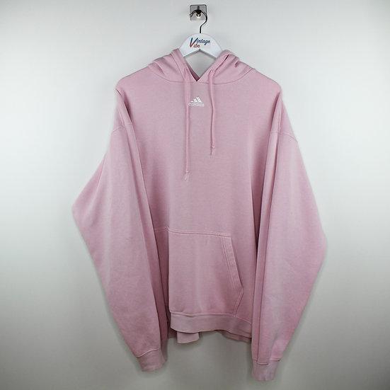 Adidas Vintage Hoodie rosa - XXL