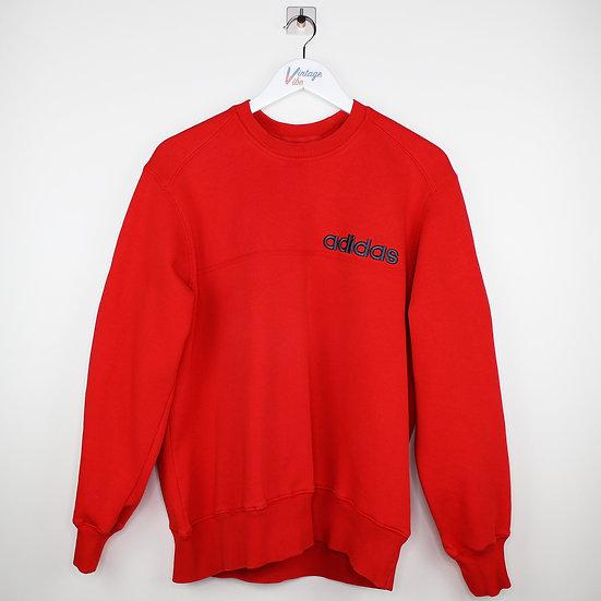 Adidas Vintage Sweatshirt rot - L