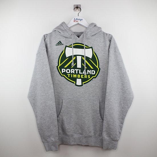 Adidas Pro-Sport Hoodie grau - L