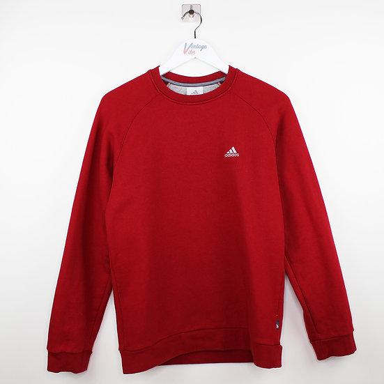 Adidas Vintage Sweatshirt rot - S