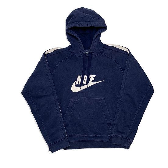 Nike Spellout Vintage Hoodie dunkelblau / weiß - S