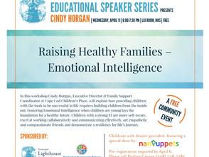 Raising Healthy Families- Emotional Intelligence Talk