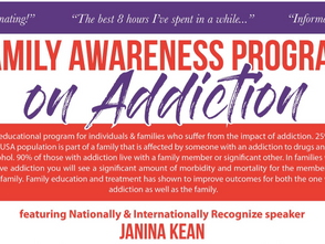 Addiction Awareness Workshop: Solutions for Families