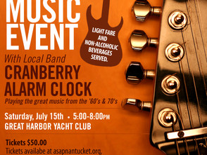 """ASAP to host their first ever fundraiser """"A Clean Scene Music Event"""" with local band Cranb"""