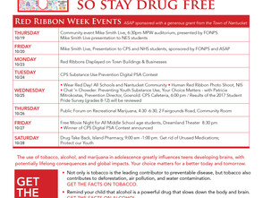 Red Ribbon Week Full of Community Events  Oct. 19-28