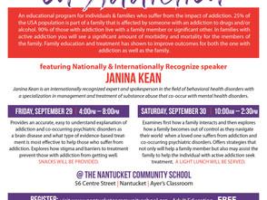 Family Awareness Program happening Sept. 29-30th