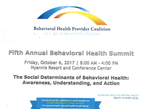 5th Annual Behavioral Health Summit happening Oct. 6th in Hyannis