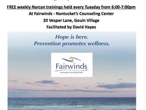 Tuesday Night Narcan Trainings