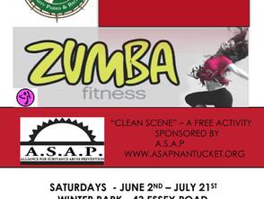 Free Saturday Morning Zumba!