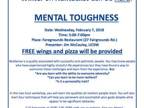 Mental Toughness at Fairgrounds Restaurant