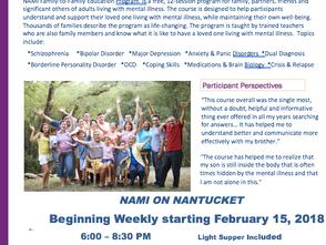 NAMI Brings New Programs to ACK