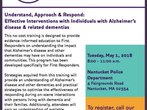 Dementia Friendly Community Initiative comes to ACK