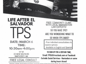 Free Legal Consultation on Immigration, TPS