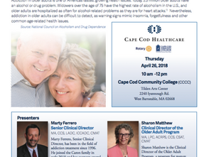 Educational Event for Addicted Older Adults and their Families