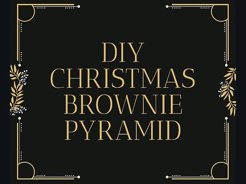 Christmas Pre-Order DIY Christmas Brownie Pyramid