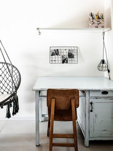 שולחן כתיבה וינטג'