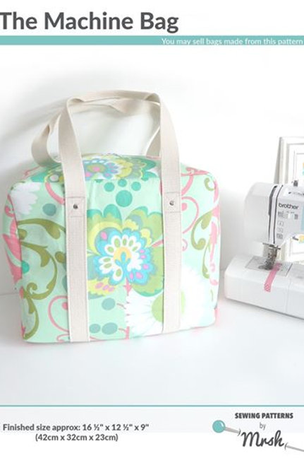 Mrs H Machine Bag Pattern