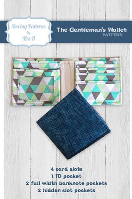 Mrs H Gentlemans Wallet Pattern