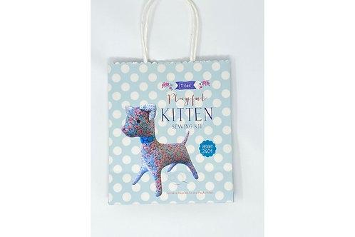 Tilda Sewing Kit - Playful Kitten