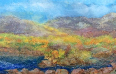 Collage Landscapes - A Workshop with Julie Larkin