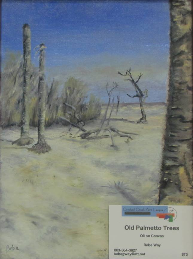 """Old Palmetto Trees"""