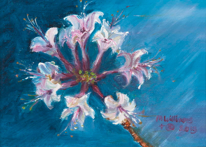 """""""Native Azela"""" - a painting by Mary Williams"""