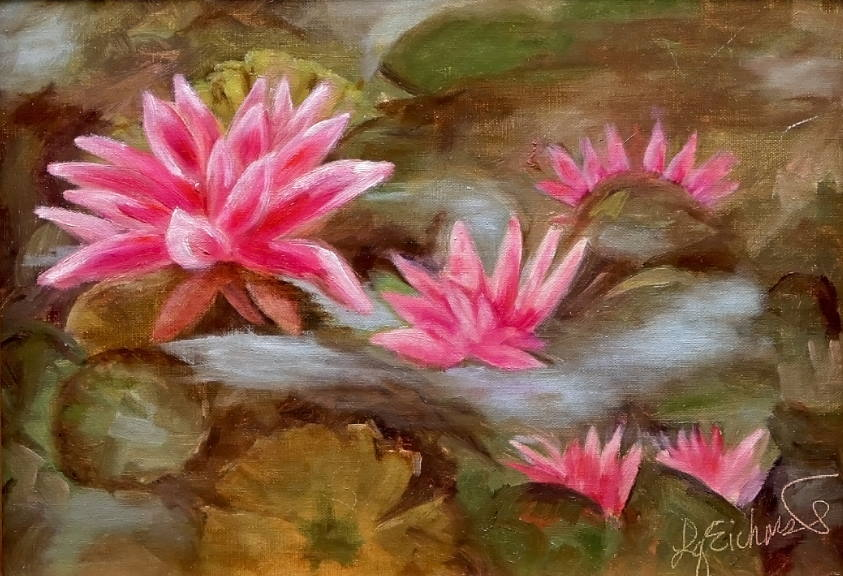 Happy Water Lilies