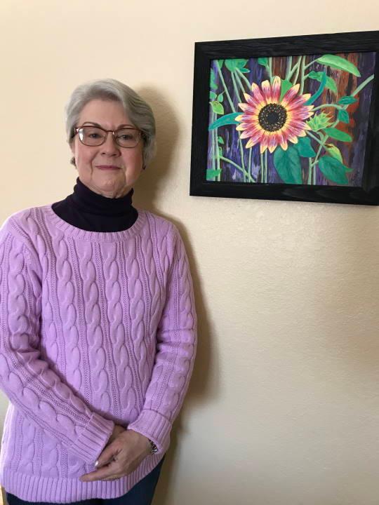 Photo of artist Diane McCavitt