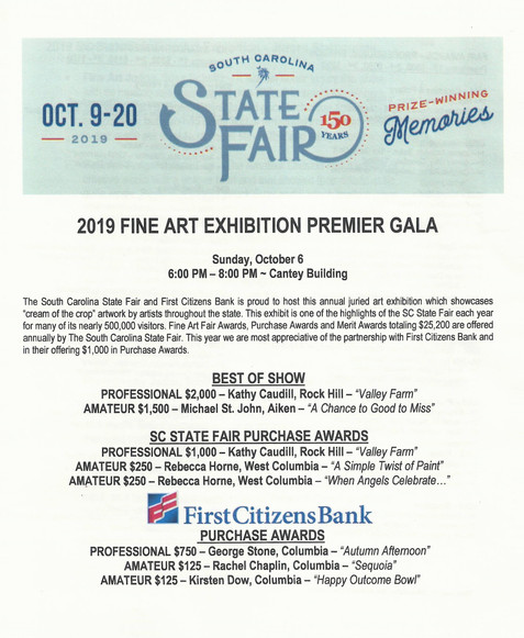 CCAL Artists at the 2019 State Fair