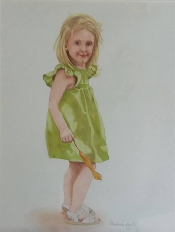 "Painting ""Drayton Hall"" by Dianna Smith"