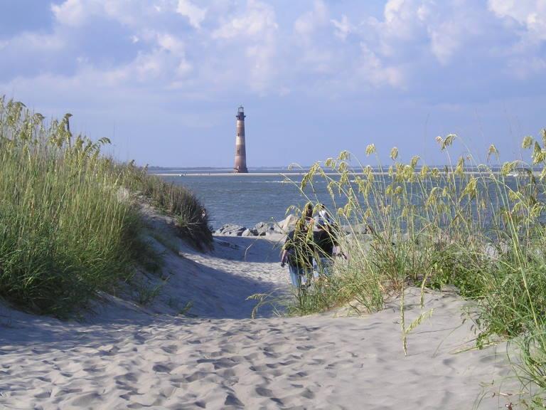 """Morris Island lighthouse"""