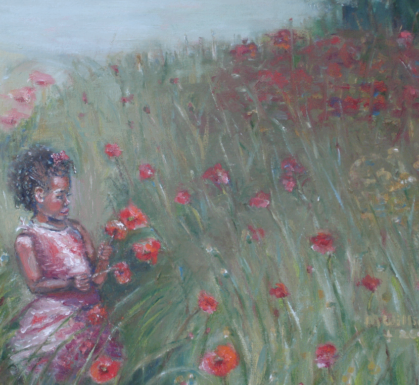 """""""Playing in Poppies"""""""