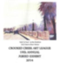 Crooked Creek Art League;2014 Annual Juried Art Show