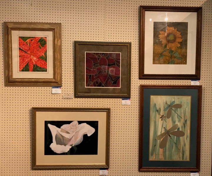 Photo of Adelia Ruth Artwork Display at PFA