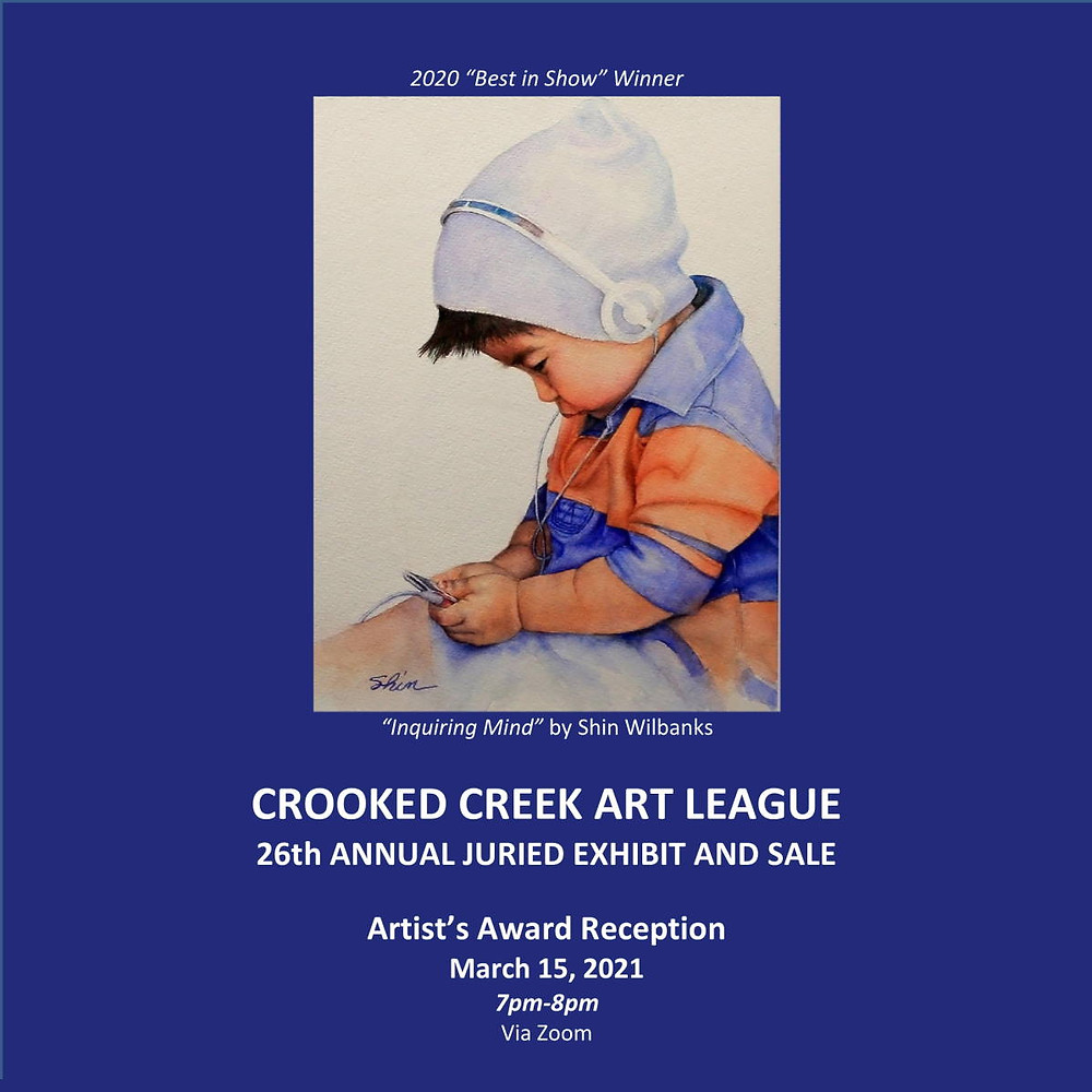 Photo of 2021 Juried Show Program Cover
