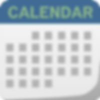 Icon of monthly calendar page