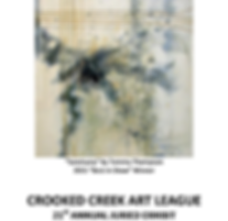 Crooked Creek Art League;2016 Annual Juried Art Show