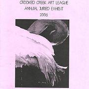 2006 Juried Show Program Cover