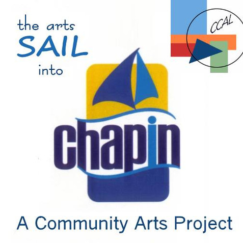 "The Arts ""Sail into Chapin""! CCAL Launches All New Community Art Project"