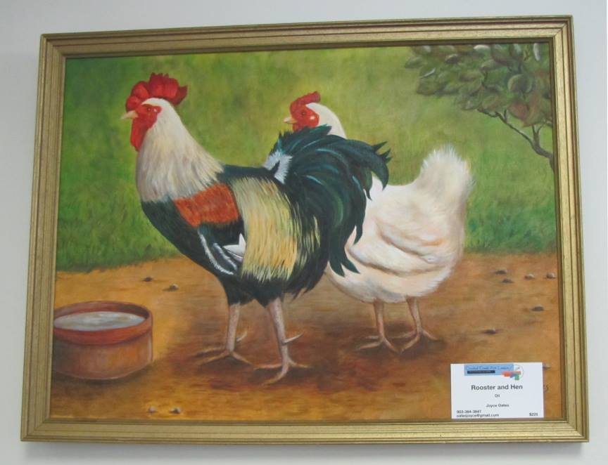 """""""Rooster and Hen"""""""