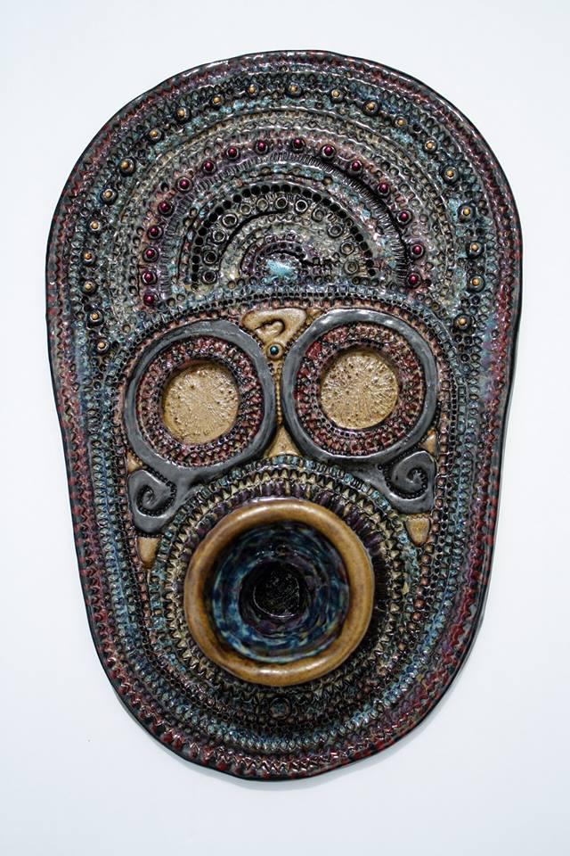 "Ceramic Artwork: ""Piper"" by Olga Yukhno"