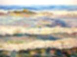Painting of waves;Helen Beacham