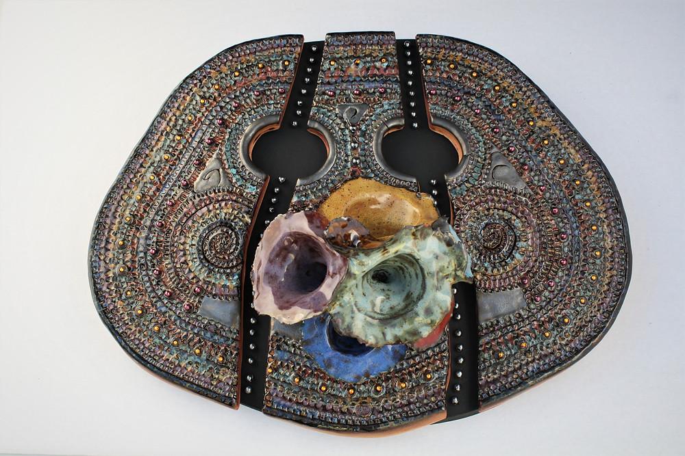 "Ceramic Artwork: ""Colors of Music"" by Olga Yukhno"