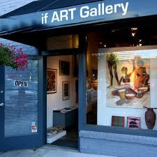 Photo of store front for if ART Gallery