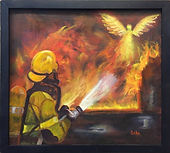"""""""Firefighter Angels"""" by Bebe Way"""