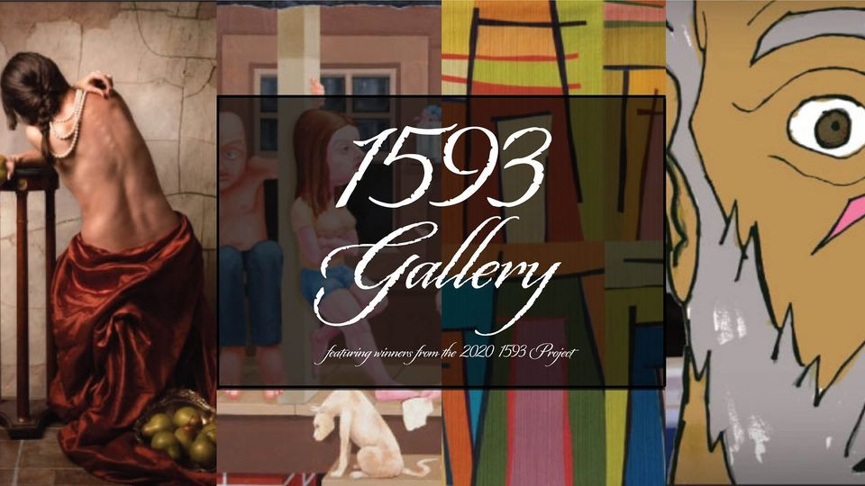 Cover Photo collage for show in the 1593 Gallery