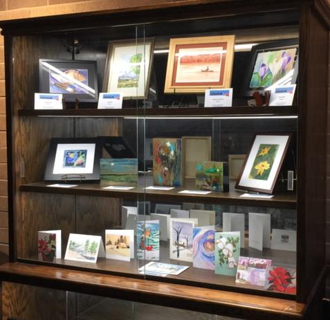 CCAL Display Cabinet: Jan 2021