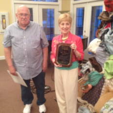 2014-2015 Outstanding Member of the Year: Mary Monroe and Mike Loy