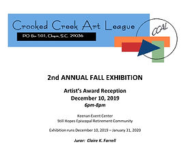 2019 Still Hopes Exhibition Program Cover