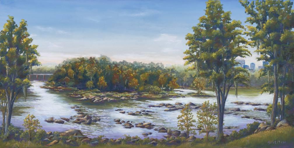 """Three Rivers"" by Al Leitch"